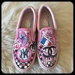 Vans Vault Collection x Chanel 'I Heart NY' Collab